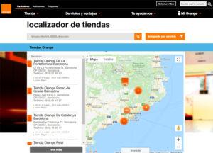 Tiendas Orange en Barcelona, Madrid o cualquier otra ubicación