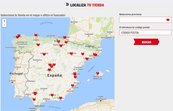 Localizar tiendas Brico Depot España