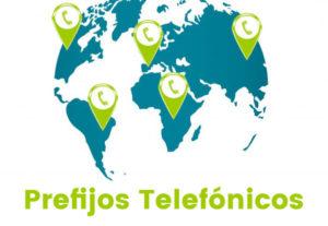 Listado de Prefijos de España y Prefijos Internaciones